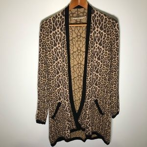 Soft surroundings City of Light Leopard Cardigan